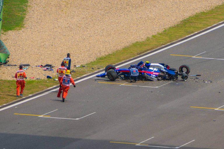 حوادث في بطولة العالم للفورمولا
