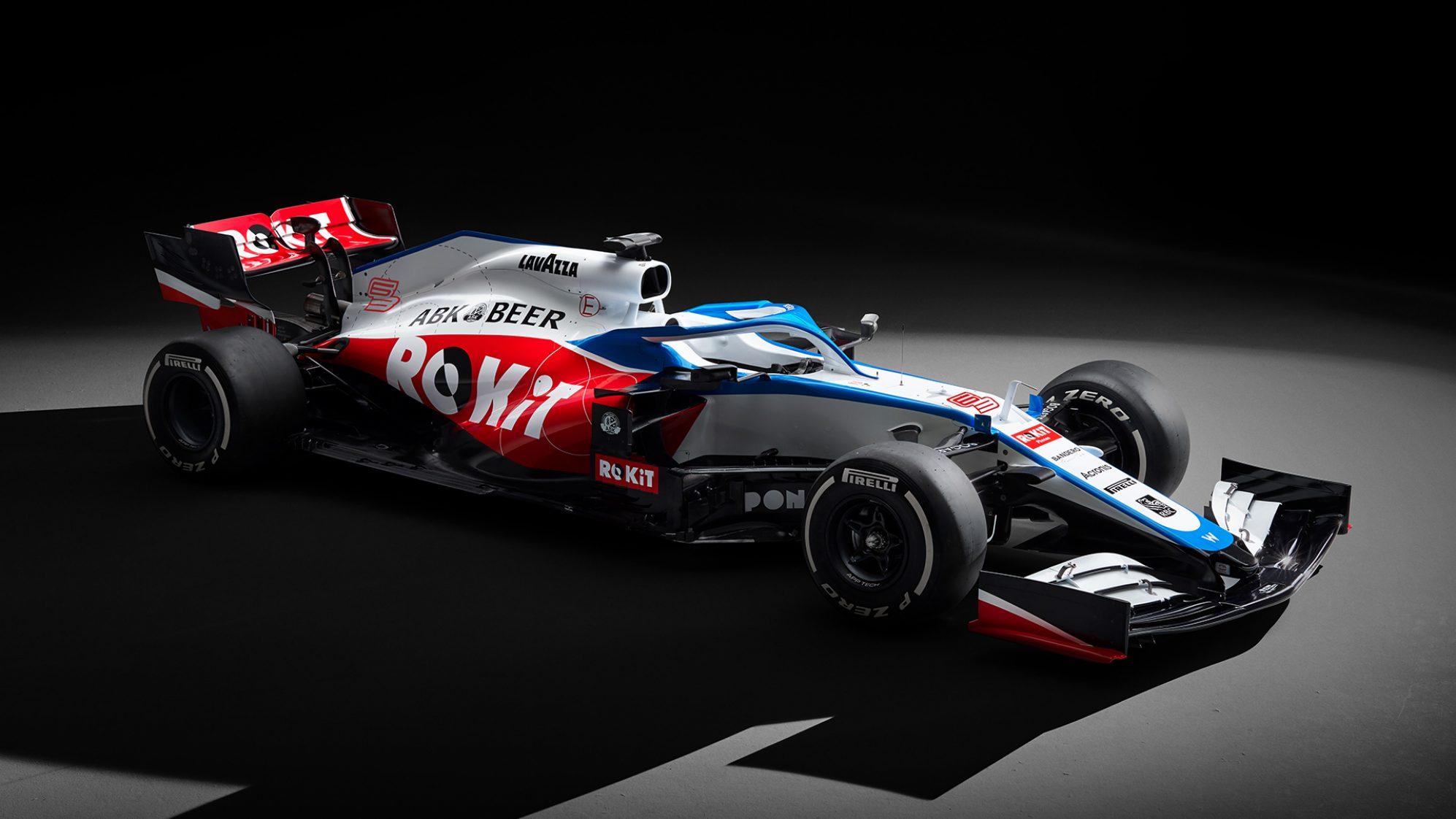 سيارة فريق ويليامز 2020