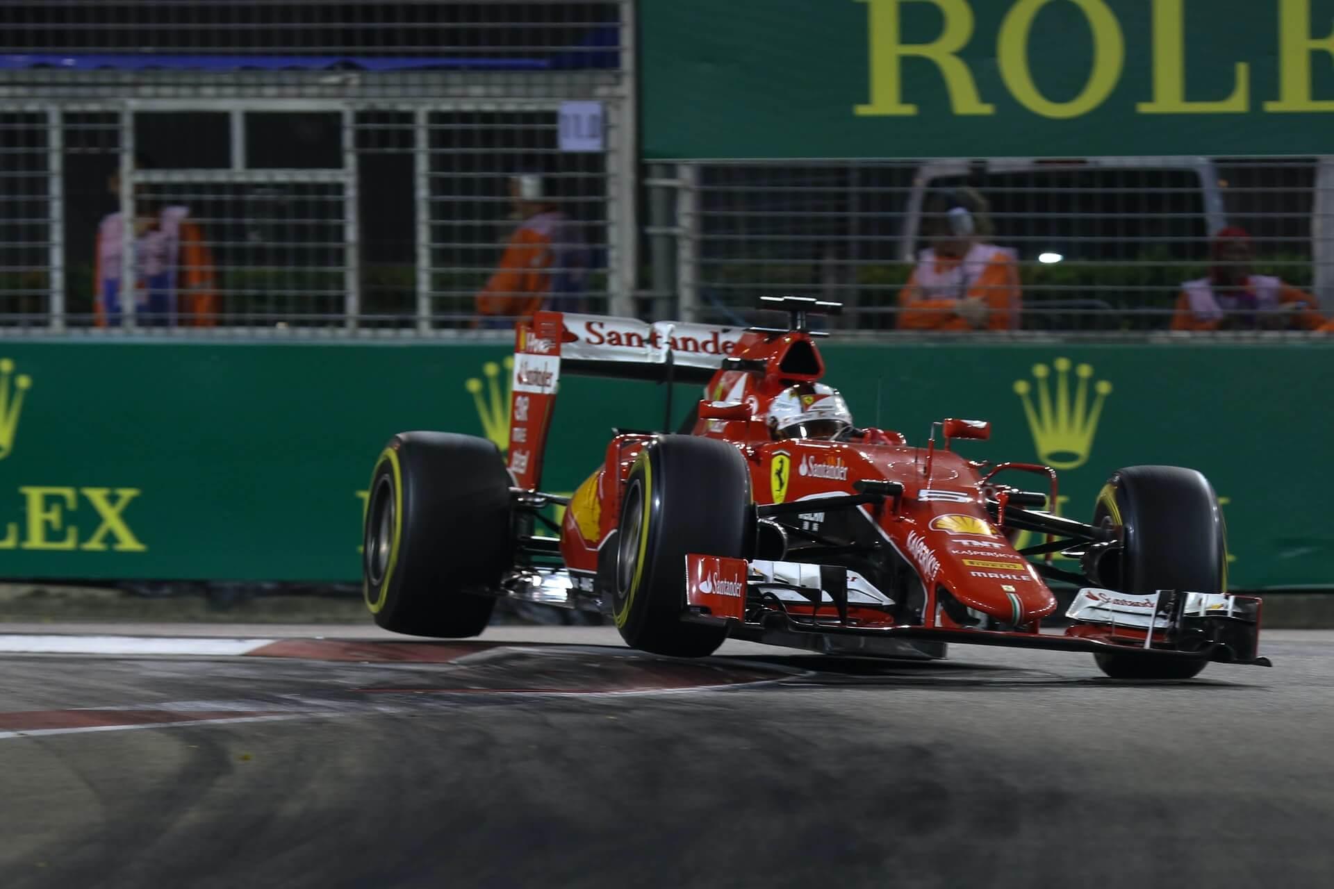 سيارة فريق فيراري فورمولا وان