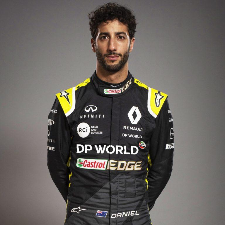 دانيل ريكاردو سائق الرينو