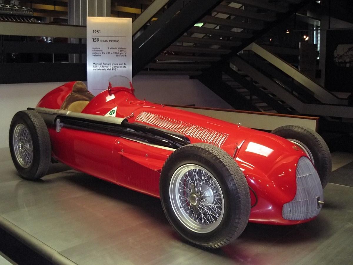 سيارة ألفا روميو 159 لموسم 1951