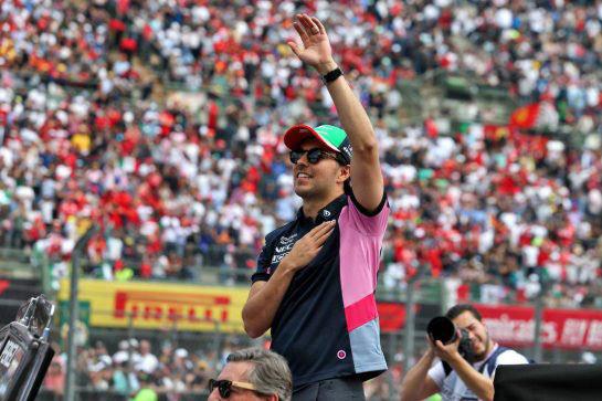 سيرجيو بيريز سائق فورمولا 1