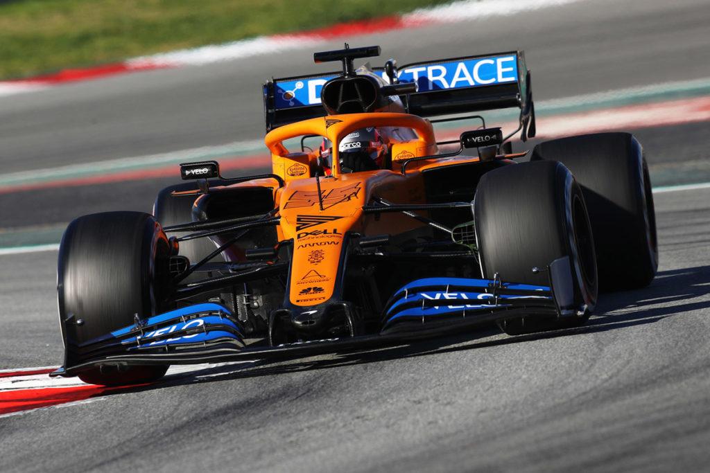 كارلوس ساينز فريق مكلارين فورمولا1