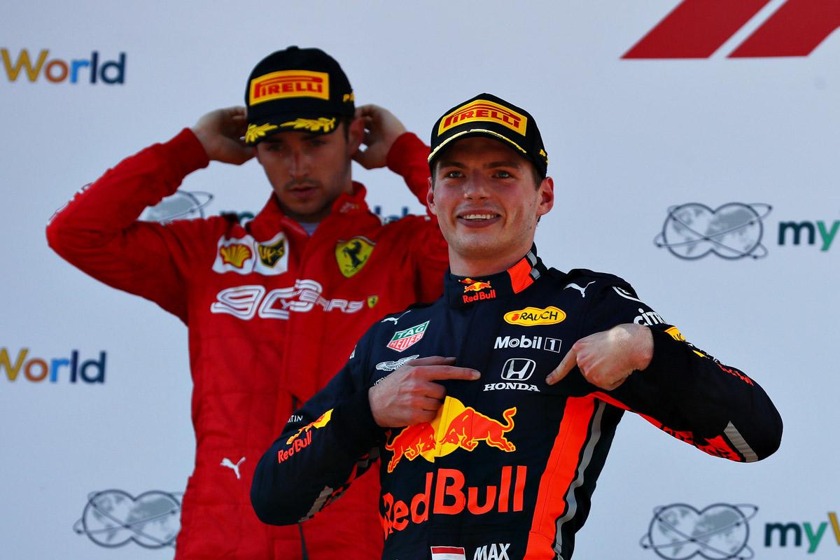 ماكس فيرستابن سائق فريق ريد بل فورمولا 1