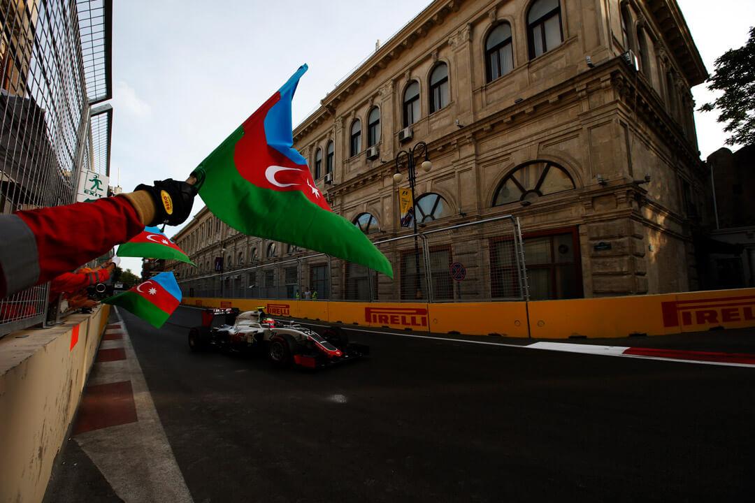 حلبة باكو أذربيجان