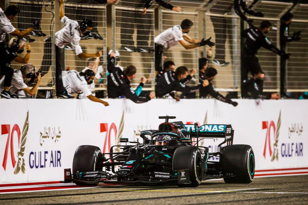 سيارة المرسيدس جائزة البحرين الكبرى