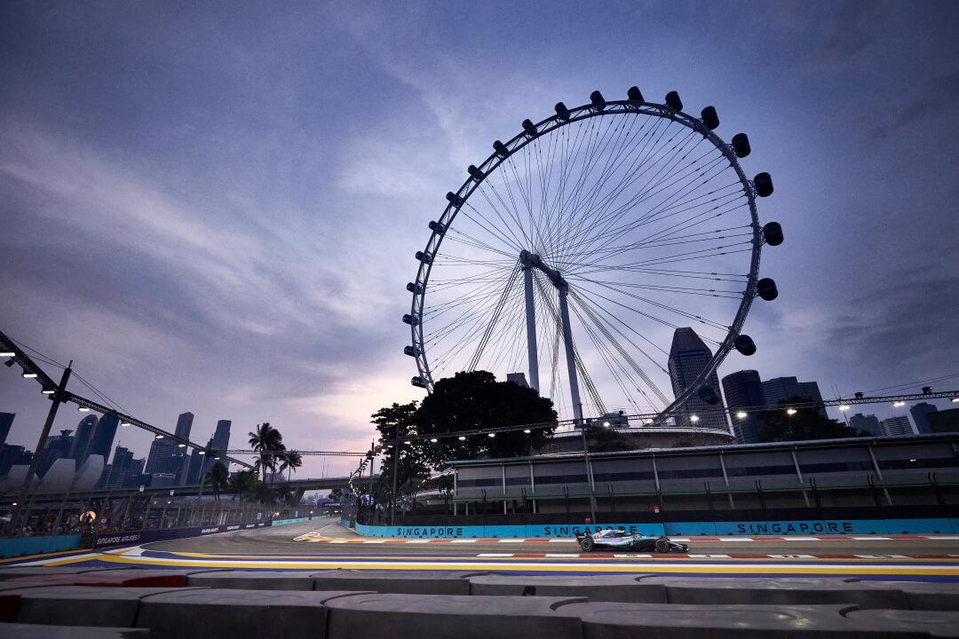 حلبة شارع مارينا باي سنغافورة
