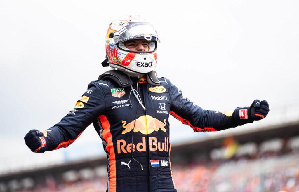 ماكس فيرستابين سائق ريدبل فورمولا 1