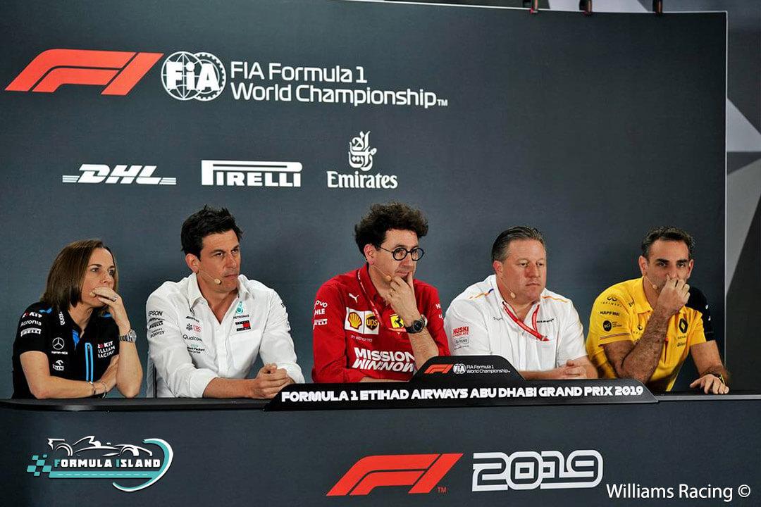 مدراء فرق فورمولا 1