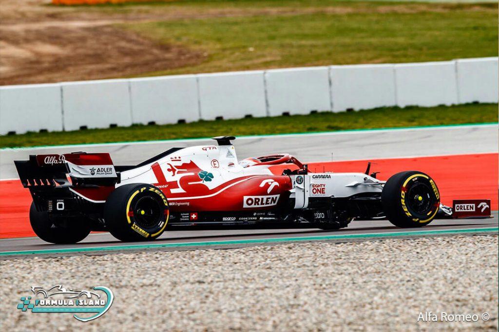 سيارة فريق ألفا روميو فورمولا 1