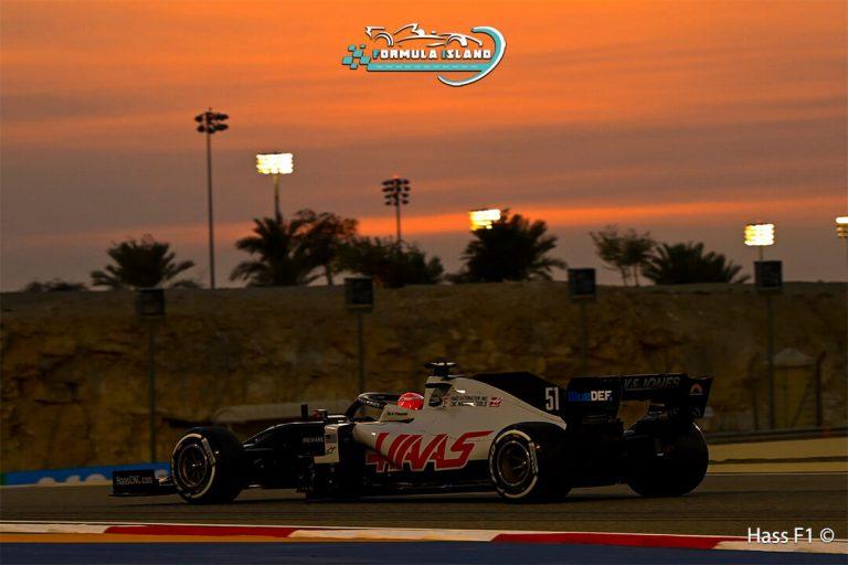 سيارة فريق هاس فورمولا 1