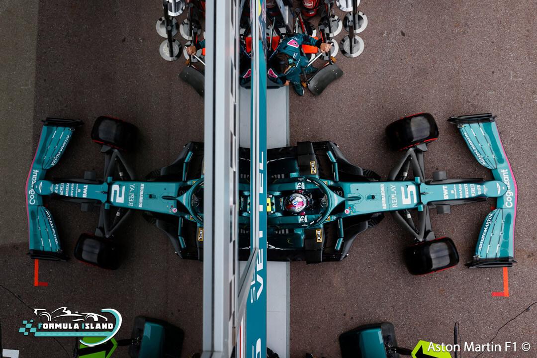 سيارة أستون مارتن فورمولا 1