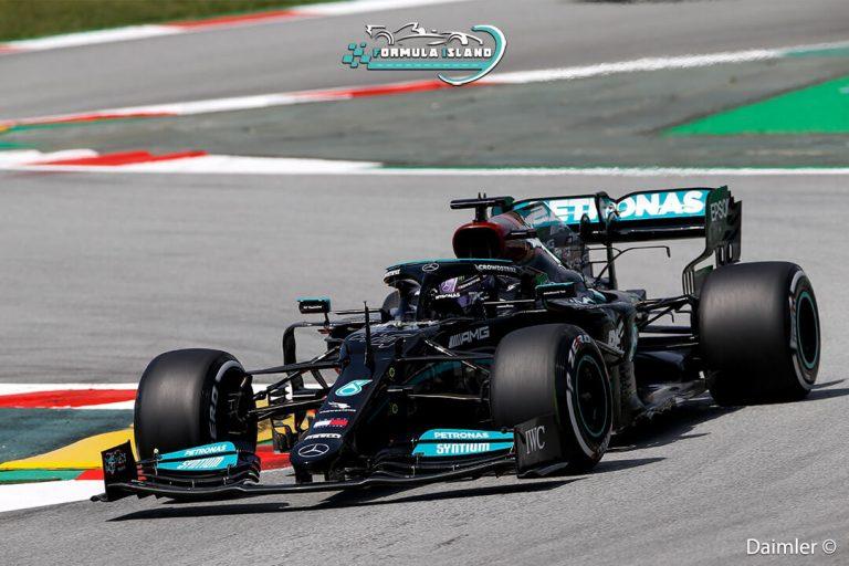 سيارة مرسيدس بنز فورمولا 1 2021