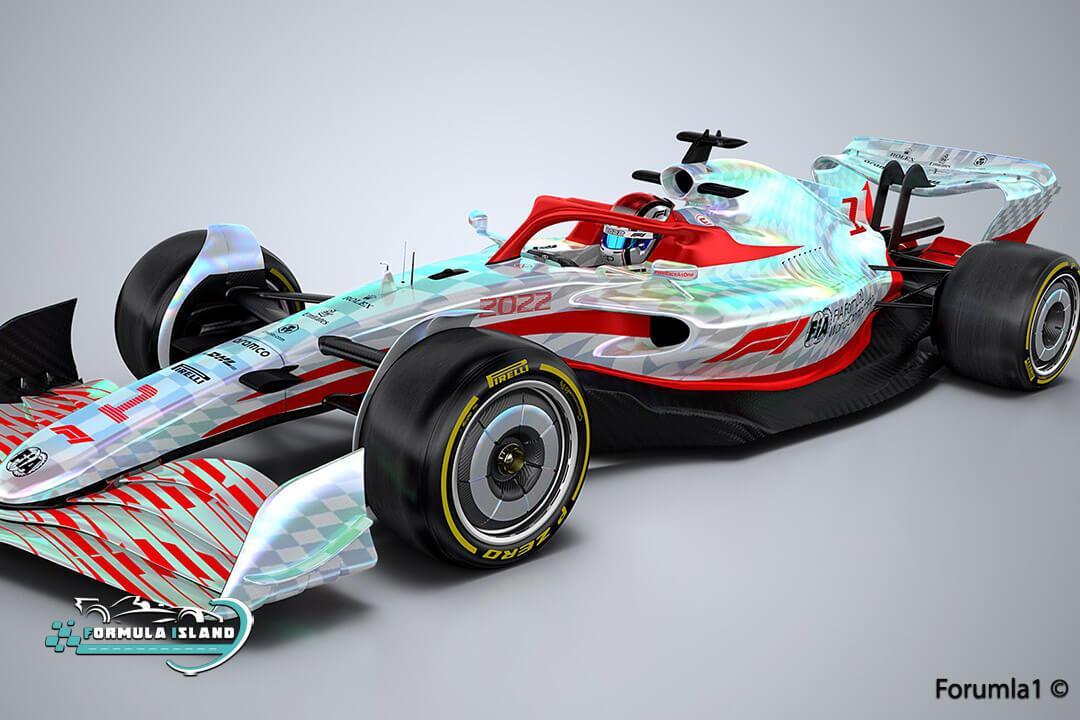 سيارة فورمولا 1 موسم 2022